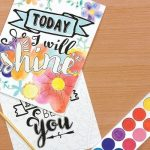 American Girl Crafts Watercolor Motivational Wall Décor Kit Only $6.25!
