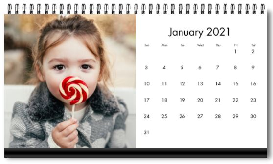 Desktop Calendars on Sale for 50% Off This Week!!