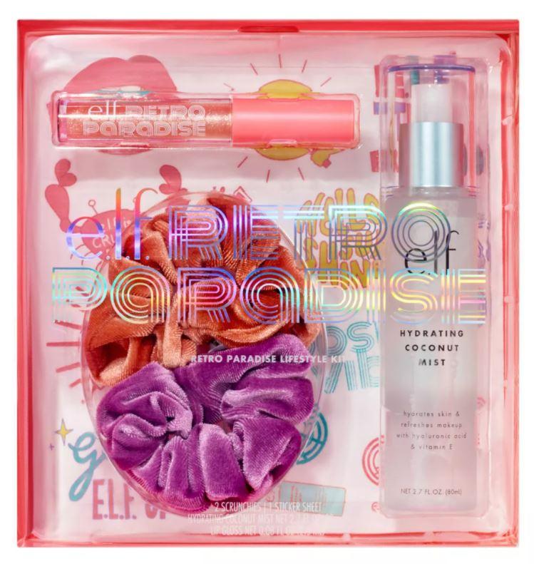 Elf Makeup Deals – Retro Paradise Lifestyle Kit Only $15!!
