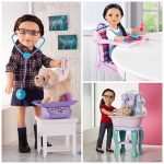Journey Girls Doll Accessories! Vet Set, Take-Along Chair & More!