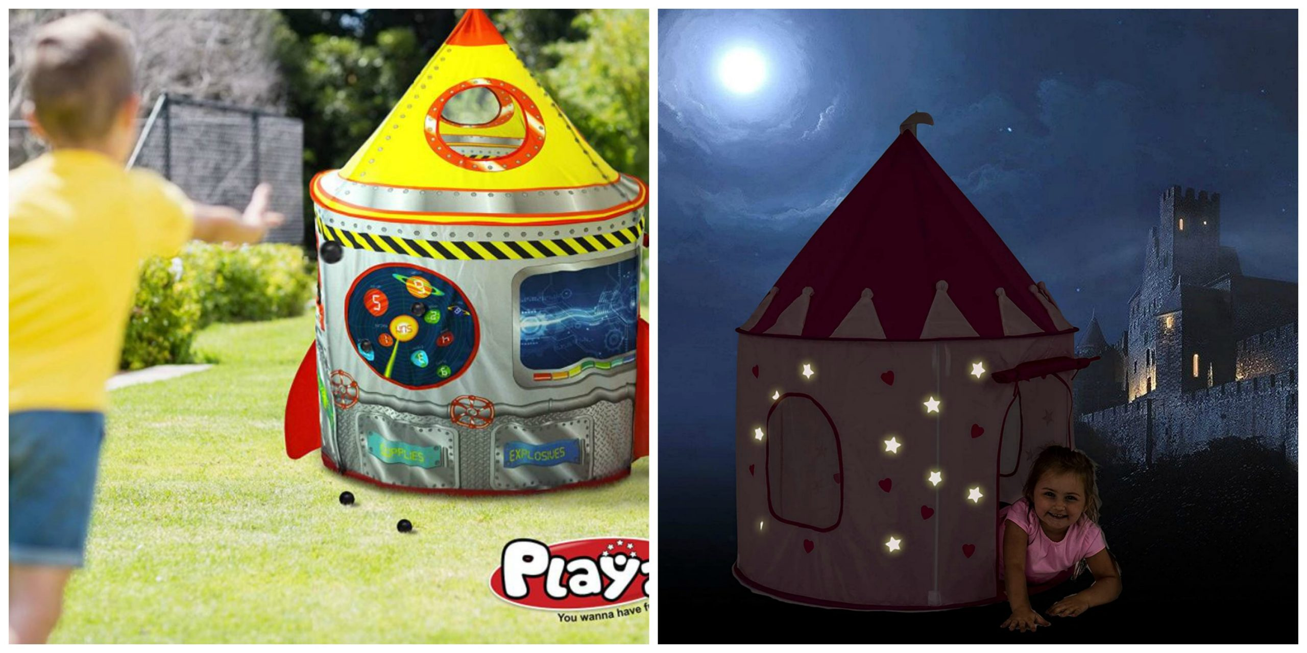 SUPER CUTE Play Tents on Sale! Some Should Arrive Before Christmas!!