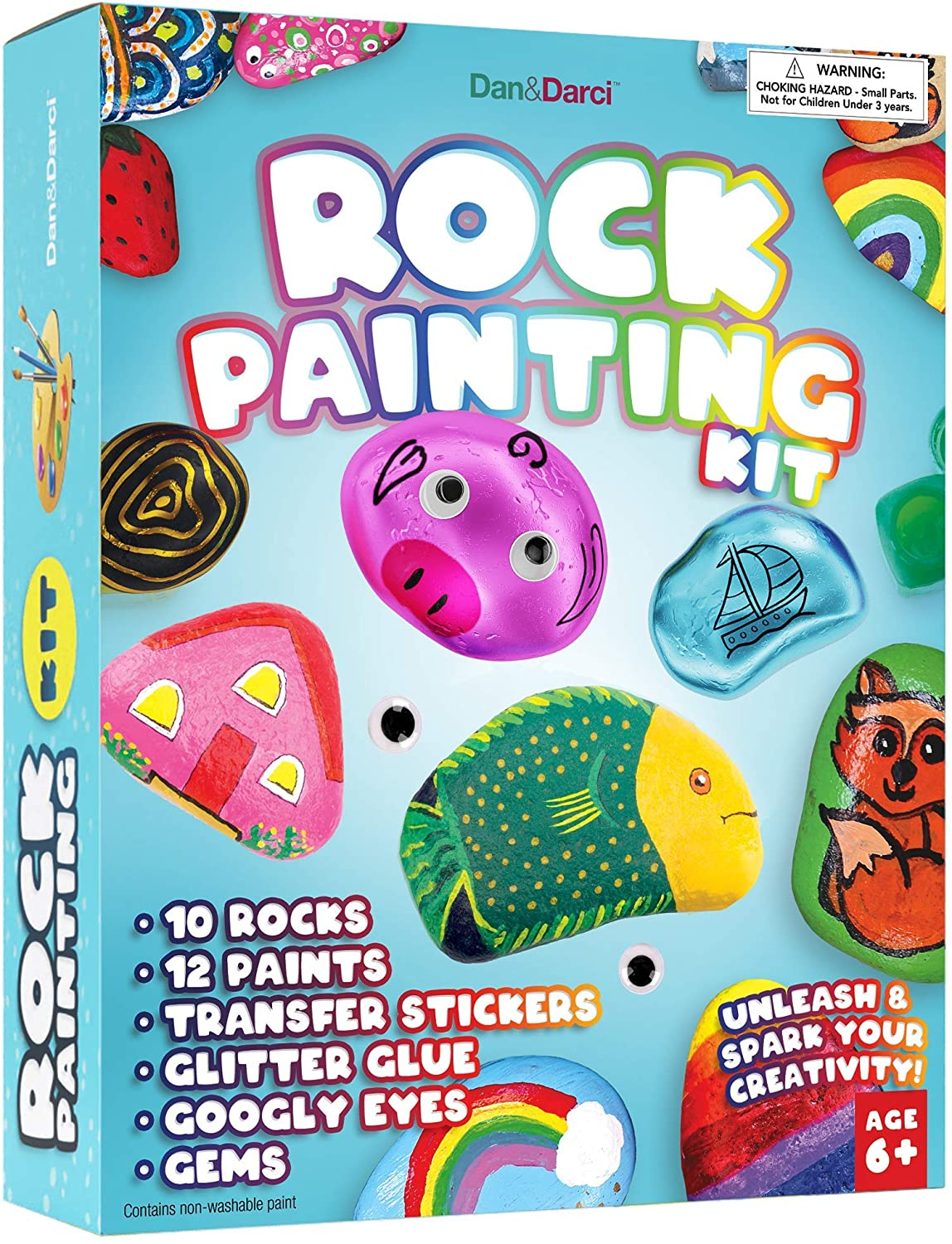 Rock Painting Kits on Sale for $12.97! Should Arrive by Christmas!