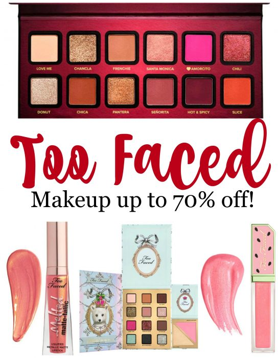 Too Faced Makeup on Sale