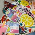 CUTE VSCO Girl Stickers on Sale! 50 Count Pack Only $3.49!