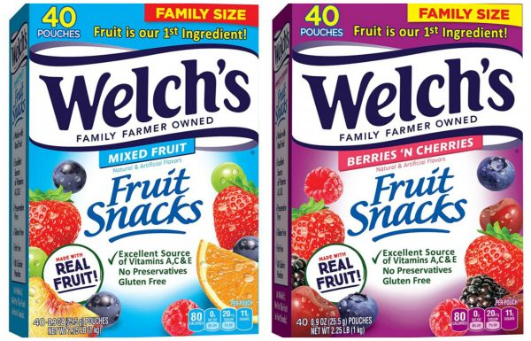 Welch's Fruit Snacks on Sale