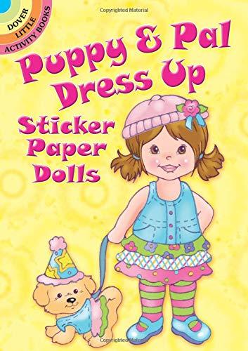 Sticker Paper Dolls Book