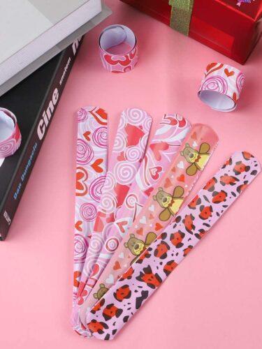 Valentine's Day Slap Bracelets 20-Pack Only $7.99! Great for School Valentine's!