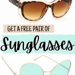 FREE Sunglasses!! Yes, You Read that Right - FREE!!