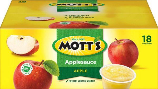 Mott's Applesauce Cups on Sale