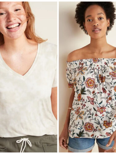 Old Navy Deals – Women's Clothing Favorites 60% Off!