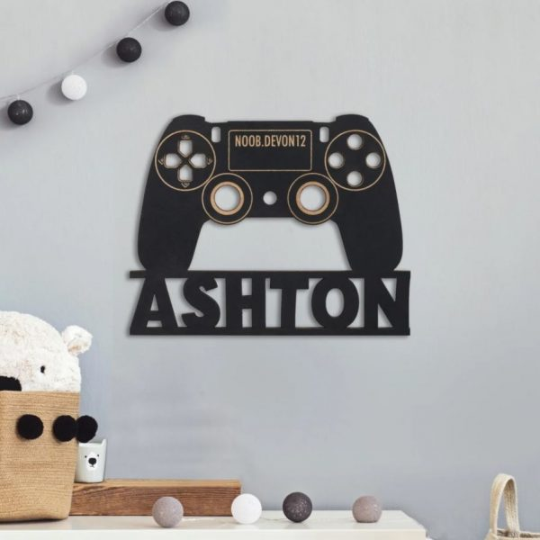 Personalized Gaming Wall Hanging