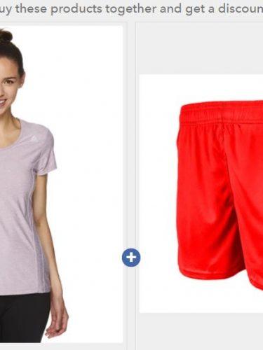 Women's Tee & Shorts Set on Sale for $9.99 (Reg. $55)!!
