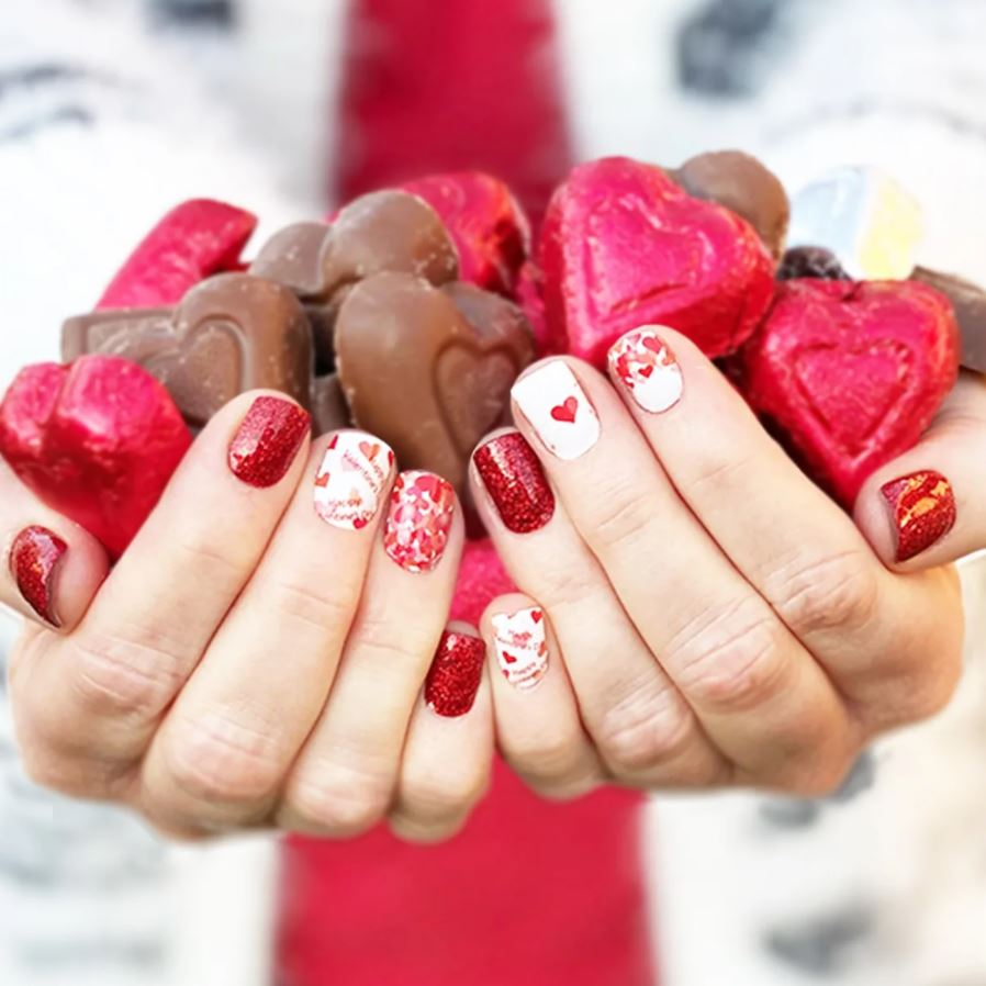Nail Wraps on Sale for $3.99! So Many CUTE Options for Valentine's Day!