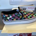 Vans on Sale! Women's Iridescent Check Slip-On Shoes Only $26.39!