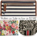 WHAT?? CUTE Wallets on Sale for as low as $2.98!!