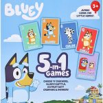 Bluey 5-in-1 Card Game Set Only $7.99! Great for Easter Baskets!