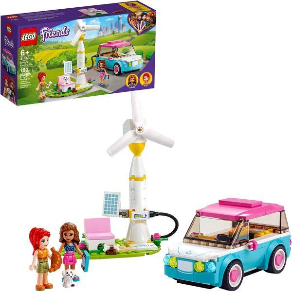 LEGO Friends Oliva's Electric Car Building Kit