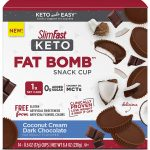 SlimFast Keto Fat Bomb Snacks as low as $6.36! Satisfy your Sweet Tooth!