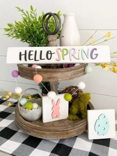Spring Signs on Sale for $13.99 + FREE Shipping! So Cute & Colorful!