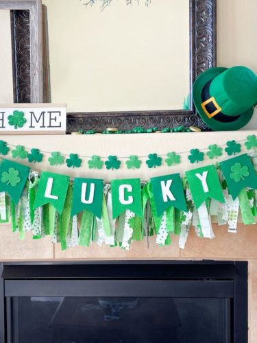 St. Patrick's Day Felt Garland Banners on Sale for $10.99 + FREE Shipping!