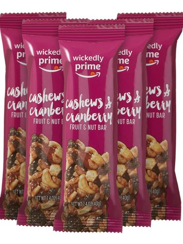 Wickedly Prime Fruit & Nut Bars as low as $3.50 – The Best Price I See!