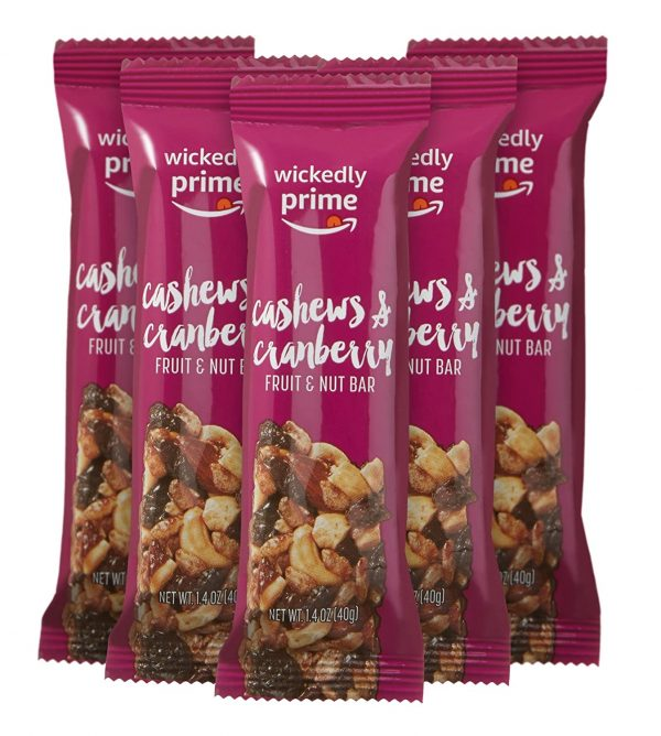 Wickedly Prime Fruit & Nut Bars