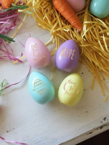 Wooden Easter Eggs Only $7.99 (Reg. $13)! Perfect for your Easter Decor!