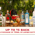 Bacardi Offer - Get a $5 off Rebate with 750ml Bottle Purchase