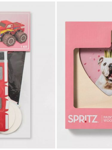 Valentine Craft Kits Only $5 – Valentine Mailboxes, Painting Crafts & More!