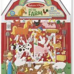 Melissa & Doug On the Farm Puffy Sticker Play Set Only $5.99!