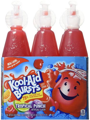 Kool-Aid Burts on Sale at Kroger! Only $0.75 per 6-Pack after Coupon!