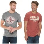 Men's Graphic Tees on Sale for as low as $3.82 after Coupon Code!