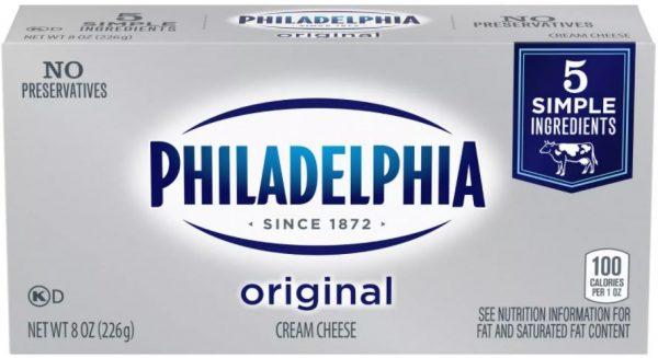 Philadelphia Cream Cheese on Sale