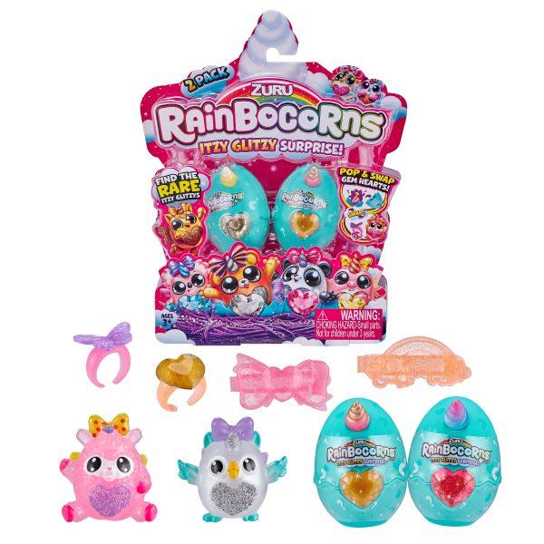 Rainbocorns Itzy Glitzy Surprise Toys