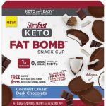 SlimFast Keto Fat Bomb Snacks as low as $7.27! Satisfy your Sweet Tooth!
