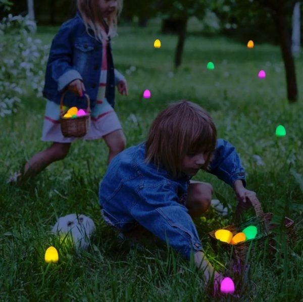 LED Light Easter Eggs