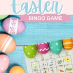 Easter Bingo Game - Fun for the Family & Play with up to 10 People!