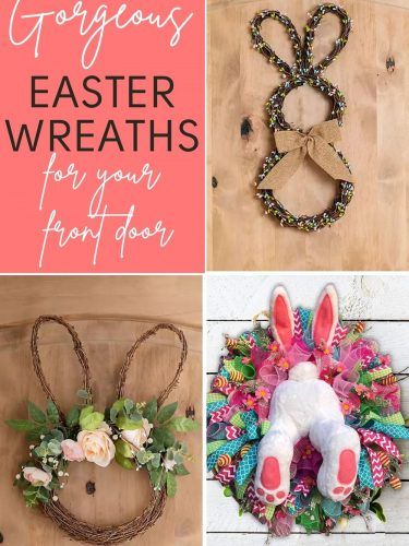 Easter Wreaths – Gorgeous & Fun Wreaths to Deck Out Your Door!