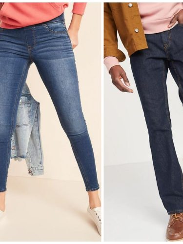 Old Navy Jeans on Sale for the Family – 50% off Today Only!!
