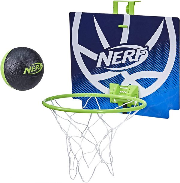 Nerfoop Classic Mini Foam Basketball and Hoop Set