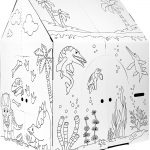 Color Your Own Playhouse on Sale + $5 off Coupon!