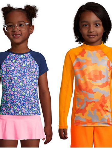 Rashguards on Sale for 40% off at Lands' End Today Only!