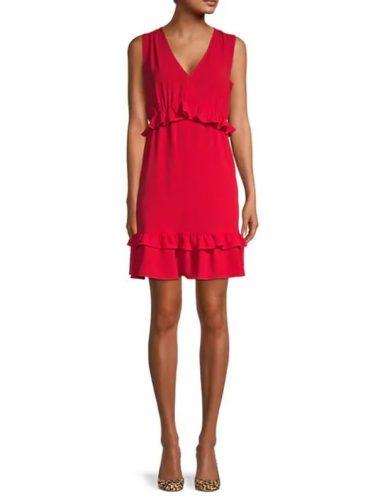GORGEOUS Women's Ruffled Mini Dress Only $23.99 (Reg. $88)!!