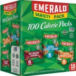 Emerald Nuts Variety Pack 18-Count as low as $8.54!