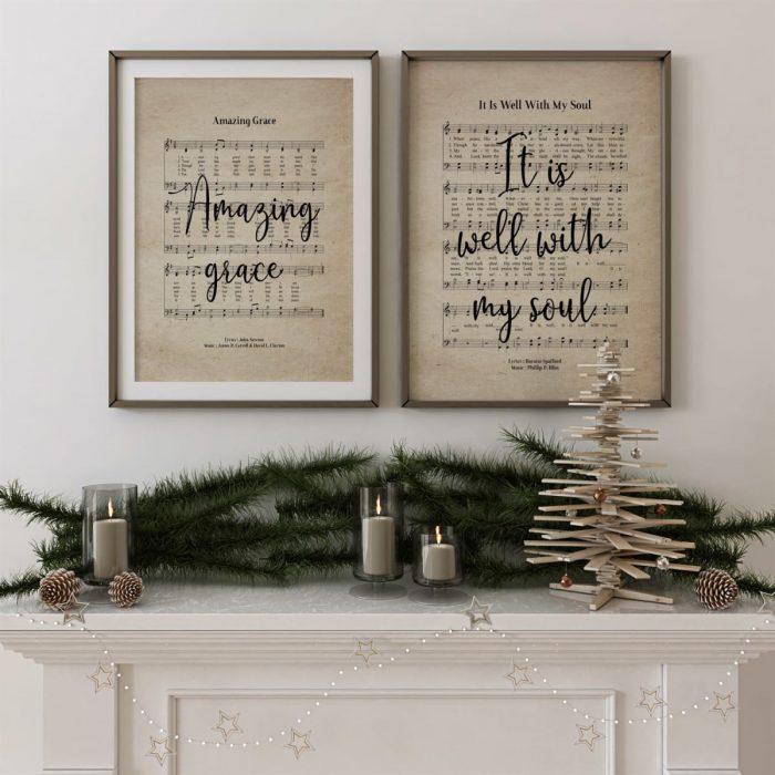 Vintage Hymn Prints