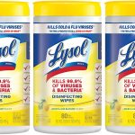 Lysol Disinfecting Wipes 240-Count Value Pack Only $9.97!