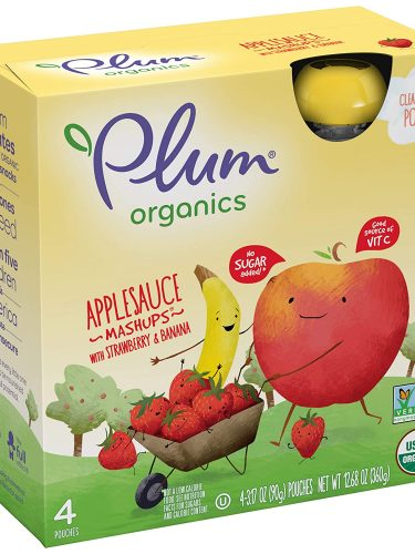 Plum Organics Toddler Food Pouches 6-Box Pack as low as $12.11!