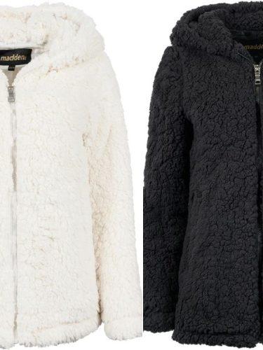 Madden Girl Women's Sherpa Zip Up Jacket Only $14.99 (Reg. $80)!