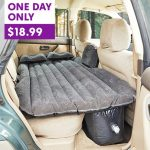 Inflatable Car Mattress on Sale Today Only! Great for Camping, Road Trips & More!