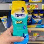 Sunscreen on Sale!! Coppertone Kids, Sport Sunscreen & More!